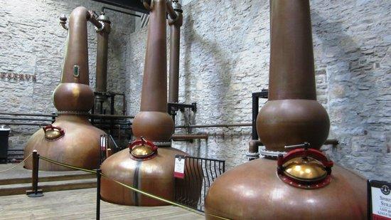 Woodford Reserve Distillery: Triple distillation