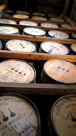Woodford Reserve Distillery: Aging to perfection