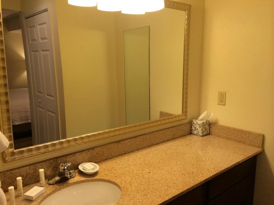 Residence Inn Winston-Salem University Area: Sink area, separate from bathtub and toilet