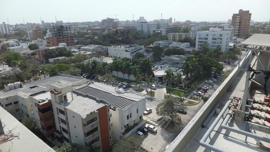 Hampton by Hilton Barranquilla: From The Roof Top 2