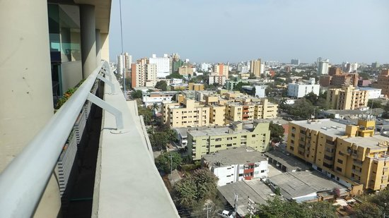 Hampton by Hilton Barranquilla: From The Roof Top 5
