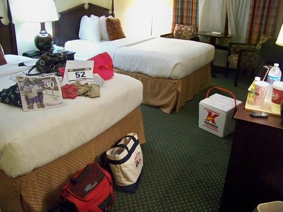 Clarion Hotel Conference Center South: Getting Settled In