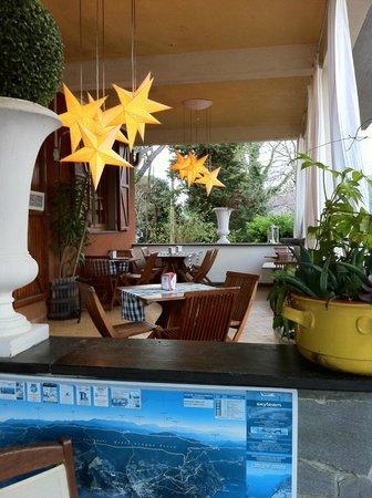 Hotel Monterosso Alto : Patio
