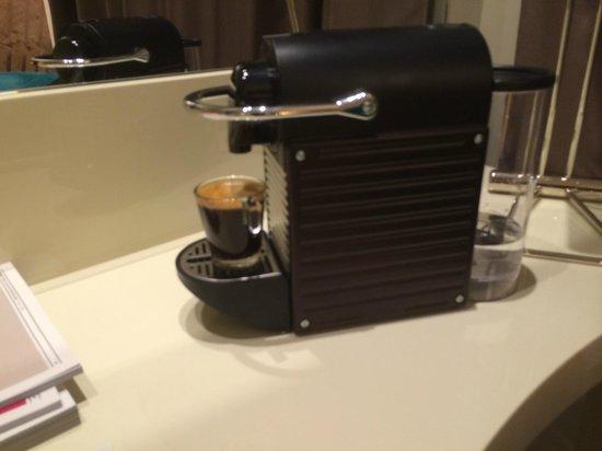 Hotel Indigo Barcelona - Plaza Catalunya : Delicious cup of espresso