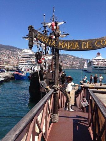 Santa Maria : Departure