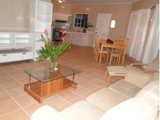 Bocas Ridge Hotel: Sala de los apartamentos