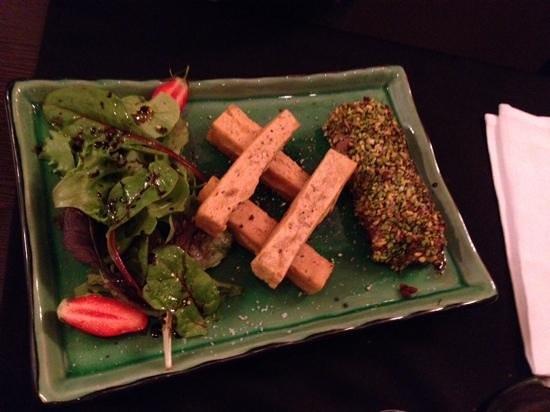 Bistro Saint Louis : veau à la pistache et panis feunouille