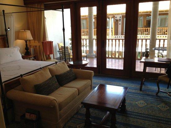 Belmond Palacio Nazarenas: View with Balcony
