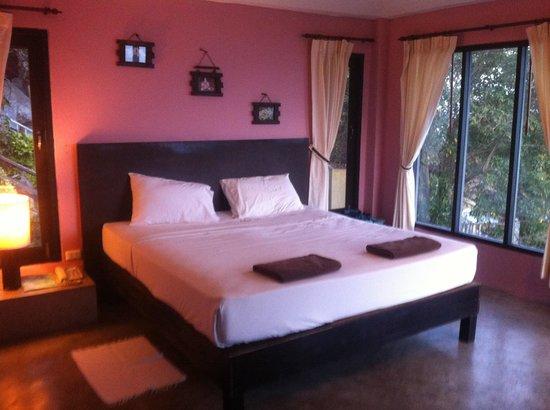 Blue Hill Beach Resort: Beautiful villa overlooking the sea