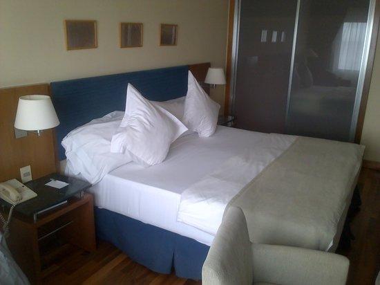 NH Montevideo Columbia: muy muy comoda y buenas almohadas