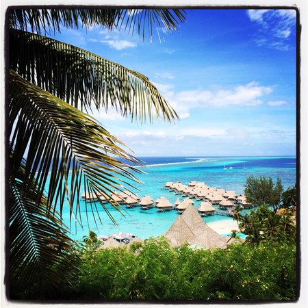 Sofitel Moorea Ia Ora Beach Resort : Sofitel vu du belvedere
