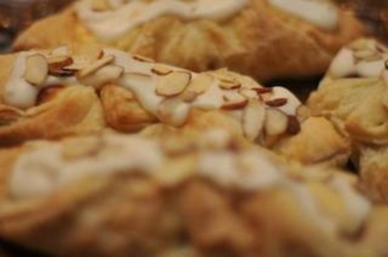 Grateful Bread Cafe & Bakery : Almond Cream Cheese Danish Puff Pastry