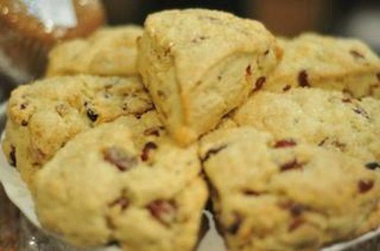 Grateful Bread Cafe & Bakery : Our famous Scones-Cranberry Walnut