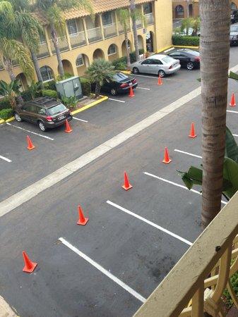 Wyndham Garden San Diego near SeaWorld: View from room