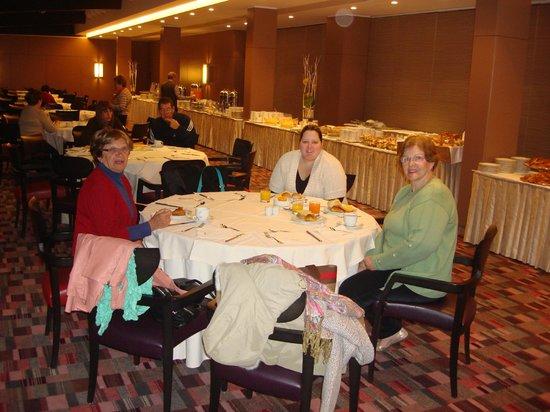 Ergife Palace Hotel : Café da manhã