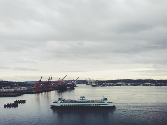 Seattle Great Wheel: southern view