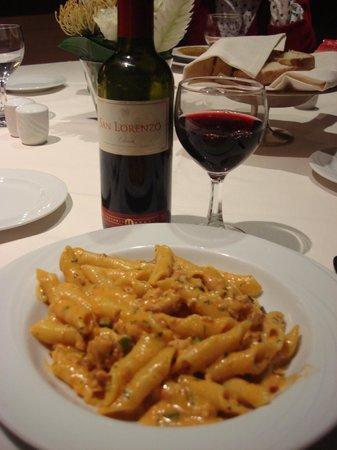 Ergife Palace Hotel : Muito boa comida