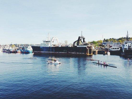 Argosy Cruises - Seattle Waterfront : shipyard