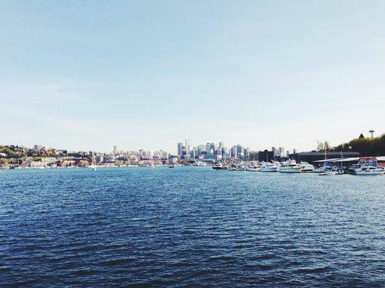 Argosy Cruises - Seattle Waterfront : lake union