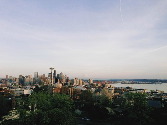 Kerry Park: seattle skyline