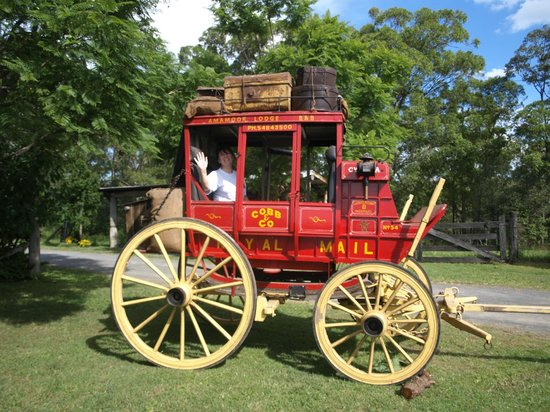 Amamoor, Australia: Cobb & Co Coach