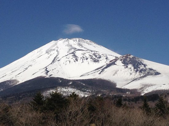 Japan Gray Line - Day Tours: Fuji-san on a clear day!