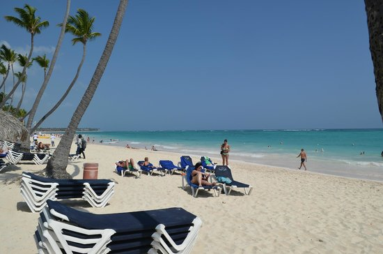 Grand Palladium Bávaro Suites Resort & Spa: playa soñada
