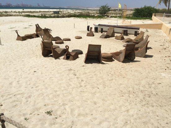 Strand vor Hilton Salalah