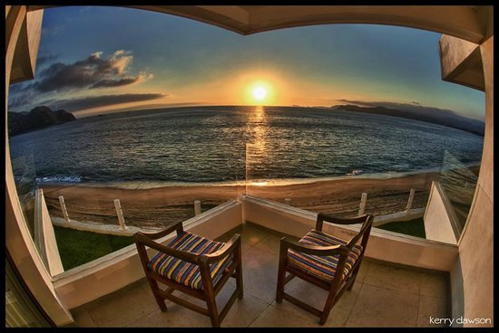 Hotel Barra de Navidad: Amazing sunsets!