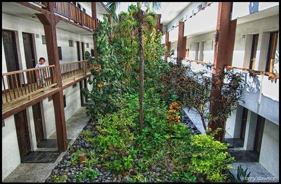 Hotel Barra de Navidad: Open-air Foyer in the lobby