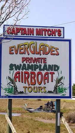 Capt Mitch's - Everglades Private Airboat Tours: Great place
