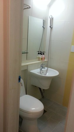 Yellow Brick Hostel : 浴室