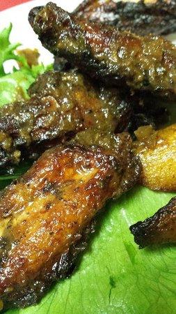 Boogalow's at Kensington Grocery: Jerk wings - the best!