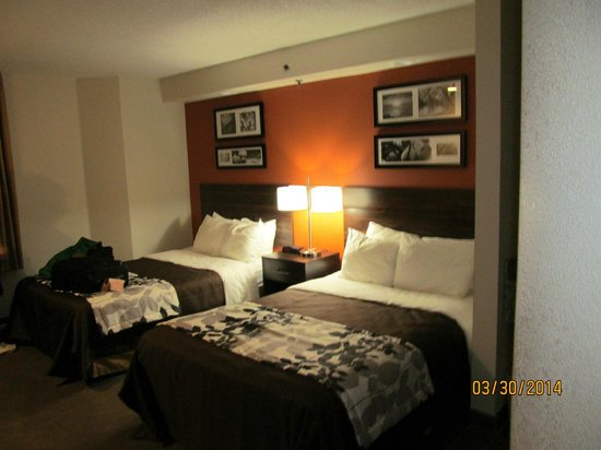 Sleep Inn Nashville Airport: Another view inside the room.