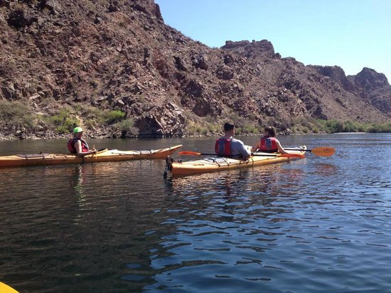 Evolution Expeditions: Kyaking the Colorado below Hoover Dam
