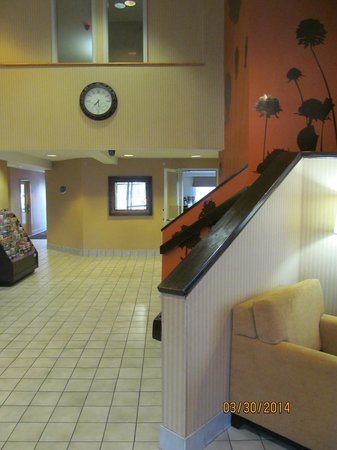 Sleep Inn : Lobby area.