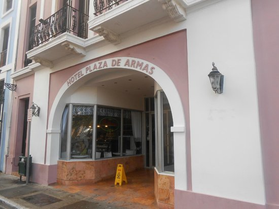 Hotel Plaza De Armas Old San Juan : Entry