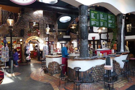 Cafe inside Hundertwasser Village - Picture of Hundertwasser ...