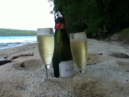 The Havannah, Vanuatu: Moso Island picnic lunch