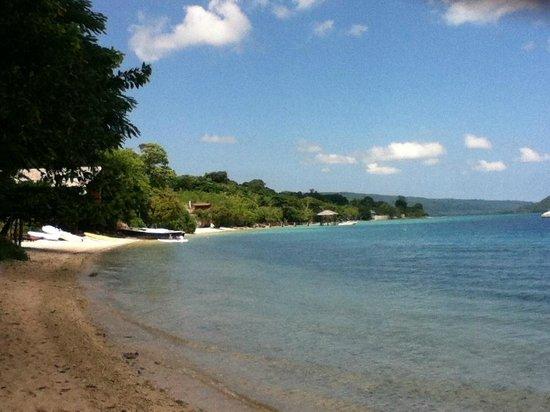 The Havannah, Vanuatu: Nice to stroll after breakfast