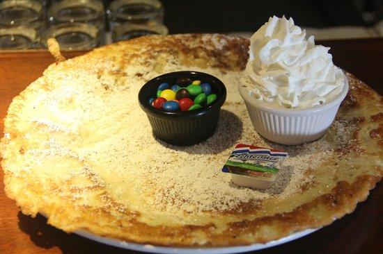 Linda's Dutch Pancakes: before