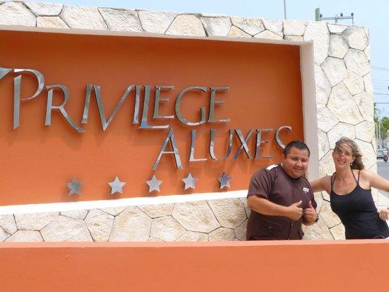 Privilege Aluxes: con el conserje...