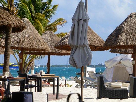 Privilege Aluxes: bar en la playa...