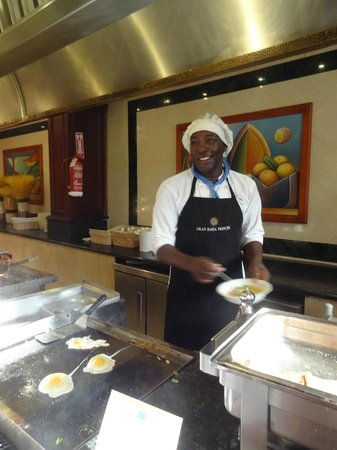 Grand Bahia Principe Punta Cana: the best omlet maker