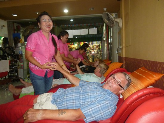 Patong Synergy Massage: friendly Staff