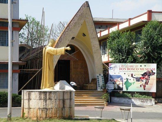 Don Bosco Centre for Indigenous Cultures : Main entrance