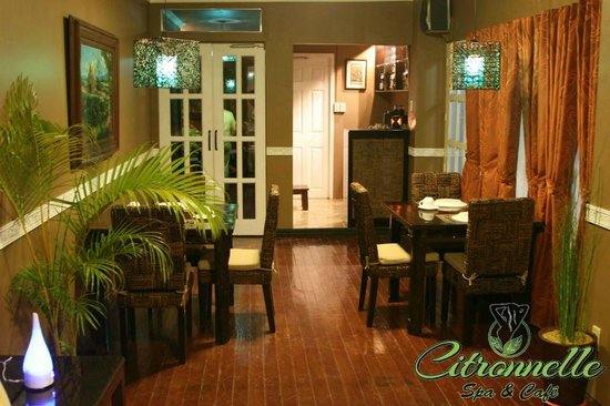 Citronnelle Spa & Cafe: Dining and Bar