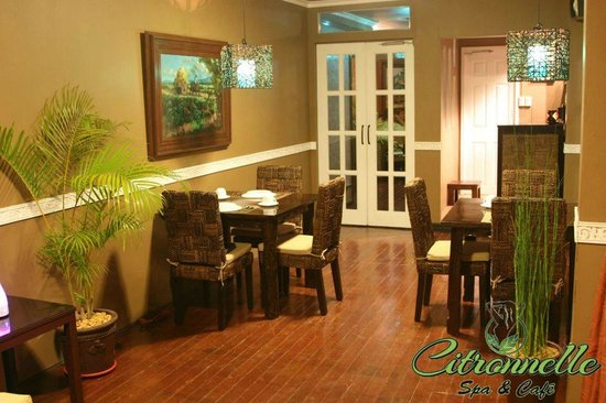 Citronnelle Spa & Cafe: Dining area