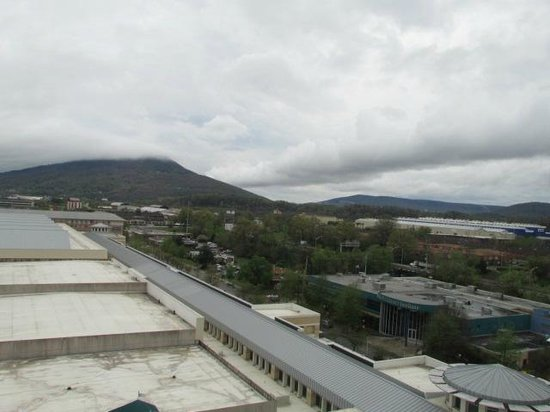 Chattanooga Marriott Downtown: View from 11th floor