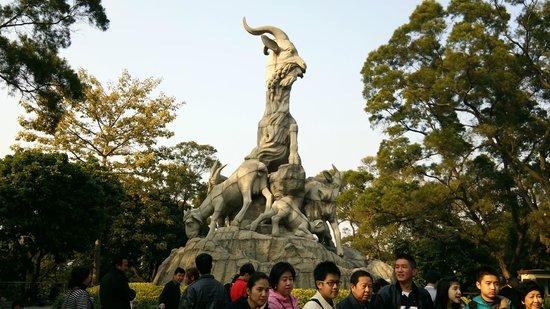 Yuexiu Mountain : 羊のモニュメント